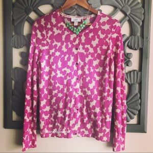 🌸LOFT pink orchid button down cardigan!! 🌸